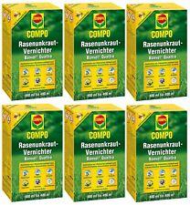 Sparset: 6 x COMPO Rasenunkraut-Vernichter Banvel® Quattro, 400 ml