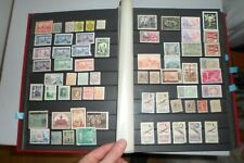 Lot timbres neufs et oblitérés d'ESPAGNE sur 3 pages d'album