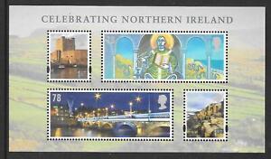 "MINIATURE SHEET MSNI152 ""CELEBRATING NORTHERN IRELAND""  MNH UM  FREE POST"