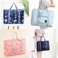 Portable Storage Hand Duffle Luggage Carry-on Foldable Shoulder Travel Big Bag