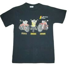 Vintage Motorcycle Tshirt Panhead Knucklehead Shovelhead 90's Small