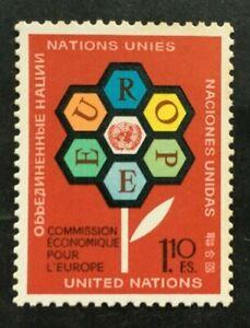 Timbre UNITE DES NATIONS GENEVE Yvert & Tellier n°27 n** Mnh (Cyn38)