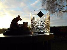 "Edinburgh Crystal  LOCHALSH  3 3/8"" ( OLD FASHIONED ) WHISKY glass OR glasses"