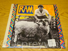 Paul and Linda McCartney RAM Sealed Two Disc 180g Audiophile Edition LP Beatles
