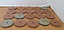 """Lot of 20 MILLBOARD DISCS 1 1/2 """" x 1/4"""" for TEDDY BEAR JOINTS Craft Pieces"""