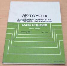 Toyota Land Cruiser Fahrwerk Karosserie UZJ HDJ 100 Station Werkstatthandbuch
