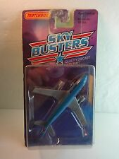 Matchbox Skybusters #28 A300B Korean Air Airbus Jet Airliner Airplane w/ package