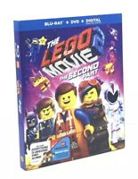LEGO Movie 2: The Second Part, The (Blu-ray+DVD+Digital, 2019) NEW w/ Slipcover