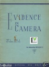 *CD File First 2 Issues Evidence in Camera 1942 Tessenderloo Dunkirk Vaernes PDF