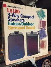 AudioSource LS100 Compact Speakers Indoor/Outdoor Surround Sound