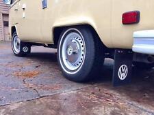 VW T1 Splittle T2 T3 T4 Bay with 1200 1500&1600 Black Mud Flaps with Bracket Set