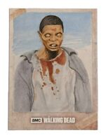 Topps Walking Dead Road To Alexandria Hand Drawn Sketch Card - Wolves Walker 1/1