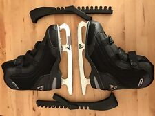 Jackson Youth Softec Ice Skates In Black With Guards - 3Us/34Eu