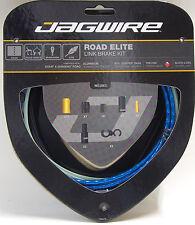Jagwire Road Elite Link Teflon Coated Brake Cable Kit For Sram/Shimano Blue