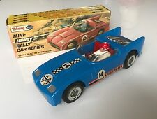 TRI-ANG Mini Hi-Way Rally Car – ACROPOLIS (Blue) - complete with original box