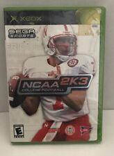 NEW FACTORY SEALED NCAA College Football 2K3 Original Xbox 2003 RARE