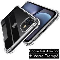 Pour iPhone XR 8 7 6 Plus XS Max Coque Bumper Antichoc Etui Protection Renforcée