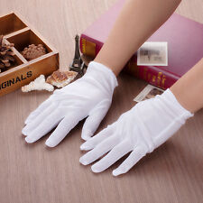 New Forchet White High Quality Forchette 100% Cotton Gloves Inspection Gloves XL
