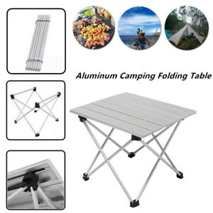 Portable Aluminum Camping Folding Table Outdoor Picnic Beach BBQ Garden Desk 1PC