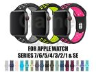 Silicone Sport Strap for Apple Watch Series 7 6 5 4 3 2 1 SE 38/40/41/42/44/45mm <br/> UK Business - Dispatched Today! (Order by 3:30pm)