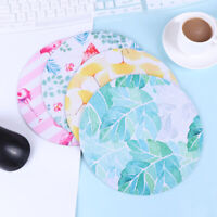 Cute flamingo mouse pad round office mice pad rubber computer anti-slip mFFB
