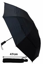 COLLAR AND CUFFS LONDON - WINDPROOF STRONG AUTOMATIC VENTED UMBRELLA RRP £50