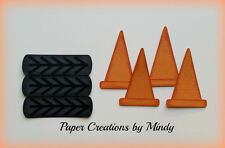 Craftecafe Mindy Racing Die Cut Sports premade paper piecing for scrapbook