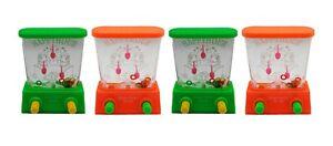 4 X Wasser Geduldspiel Set Ringe schießen Tombola Kinder Wasserspiel Reisespiel