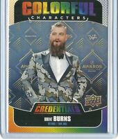 2019-20 Credentials Colorful Characters Brent Burns 	CC-2 San Jose Sharks