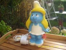 Schlumpfine Lampe - Figur Leuchte Kinderlampe Schlummerlicht - Schlumpf - Peyo