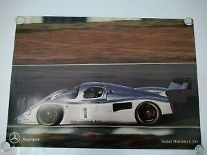 Mercedes Motorsport Sauber C291 C 291 59cm x 43cm Poster 1991