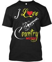 I Love Country Music - Hanes Tagless Tee T-Shirt