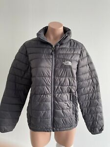 North Face Grey Puffer Jacket Size L