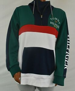 TOMMY HILFIGER NEW Women/'s Plus Size Signature French Terry Hoodie TEDO
