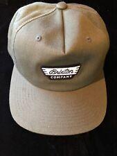 40e490a78afd5 MEN S Brixton MFG Company Olive Green Snapback Hat Cap