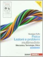 Fisica lezioni e problemi, multimediale, Zanichelli scuola; Ruffo, 9788808141439