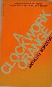 A Clockwork Orange 1973 paperback book Anthony Burgess Stanley Kubrick Vintage