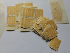 (5000B) NEW ZEALAND 87 MNH 1s3d YELLOW AND BLUE STAMPS + USED CV £450