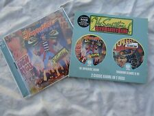 ALEX HARVEY BAND REMASTERED double cd set IMPOSSIBLE DREAM TOMORROW BELONGS TO M