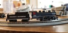 Bachmann N Scale 0-6-0 Locomotive and Tender