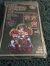 Vintage Felt Christmas Ornament Kit - Choir Singers