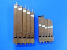 Orgelpfeifen, 10 historische Holz-Orgelpfeifen in 2 Blöcken