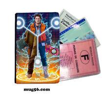 retour vers le futur 01-012 étui pochette carte grise carte d'identité permis