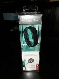 NIB FitBit Flex Wireless Wristband, Black New FACTORY SEALED FB401BK