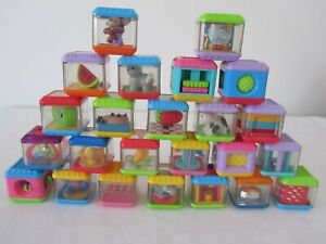 Bulk Lot FISHER PRICE Interactive Activity PEEK A BOO Blocks Baby Pre-School