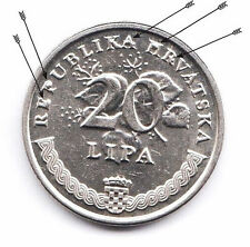 CROATIA  20 Lipa  2007  ERROR  A lot of errors  You have to look at the pictures