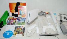 Original Nintendo Wii White Bundle: 5 games, Wii remote + Accessories Wii sports