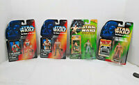 Vintage Star Wars Action Figures Luke Skywalker & Princess Leia by Kenner/Hasbro