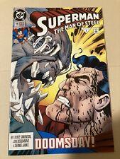 New ListingSuperman Man of Steel #19 - Dc Comics (Vf+)