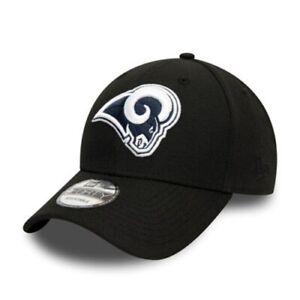 Los Angeles LA Rams 9FORTY Black New Era Cap | New w/Tags | Top Quality Item